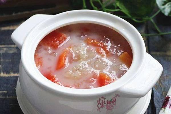 雪蛤炖木瓜女人吃了有什么好处