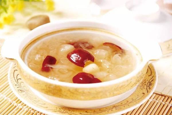 红枣炖雪蛤功效与作用