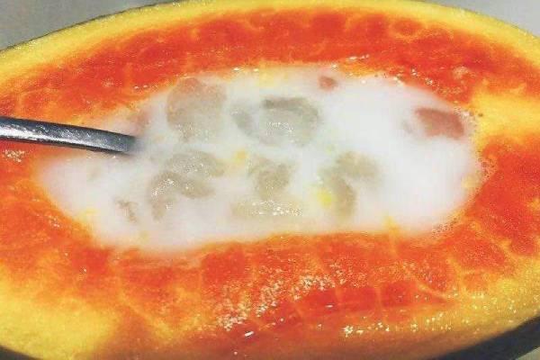 月经期能吃木瓜雪蛤吗