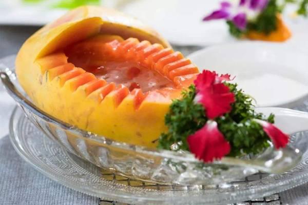 咳嗽可以吃木瓜炖雪蛤吗