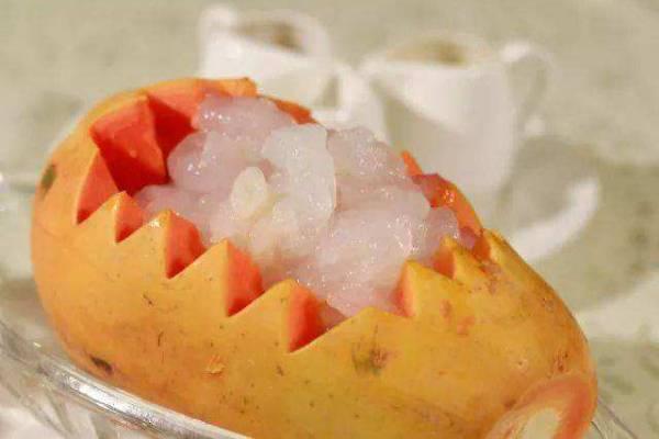 木瓜雪蛤有什么功效