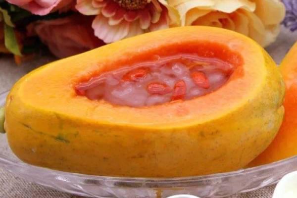 雪蛤炖木瓜怎样做没有腥味