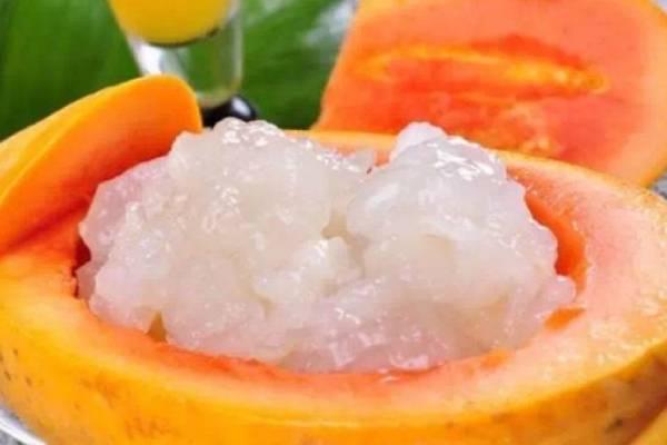 孕妇能吃木瓜炖雪蛤吗