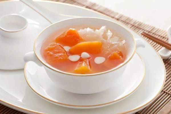 冰糖雪蛤炖木瓜功效与作用