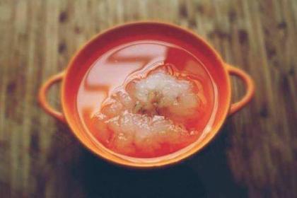 雪蛤红枣的功效