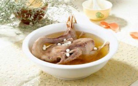 燕窝炖水鸭汤的功效
