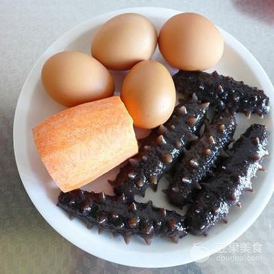 海参蒸蛋羹的做法