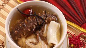 海参虫草汤
