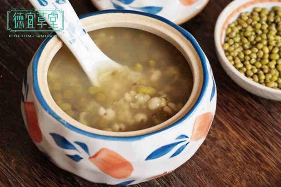 绿豆汤可以和燕窝一起吃吗
