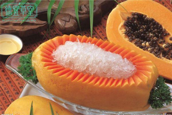 经期能吃木瓜炖燕窝吗